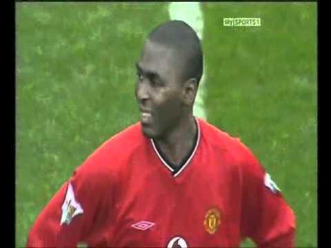 2001 - 02 Tottenem 3 - 5 United