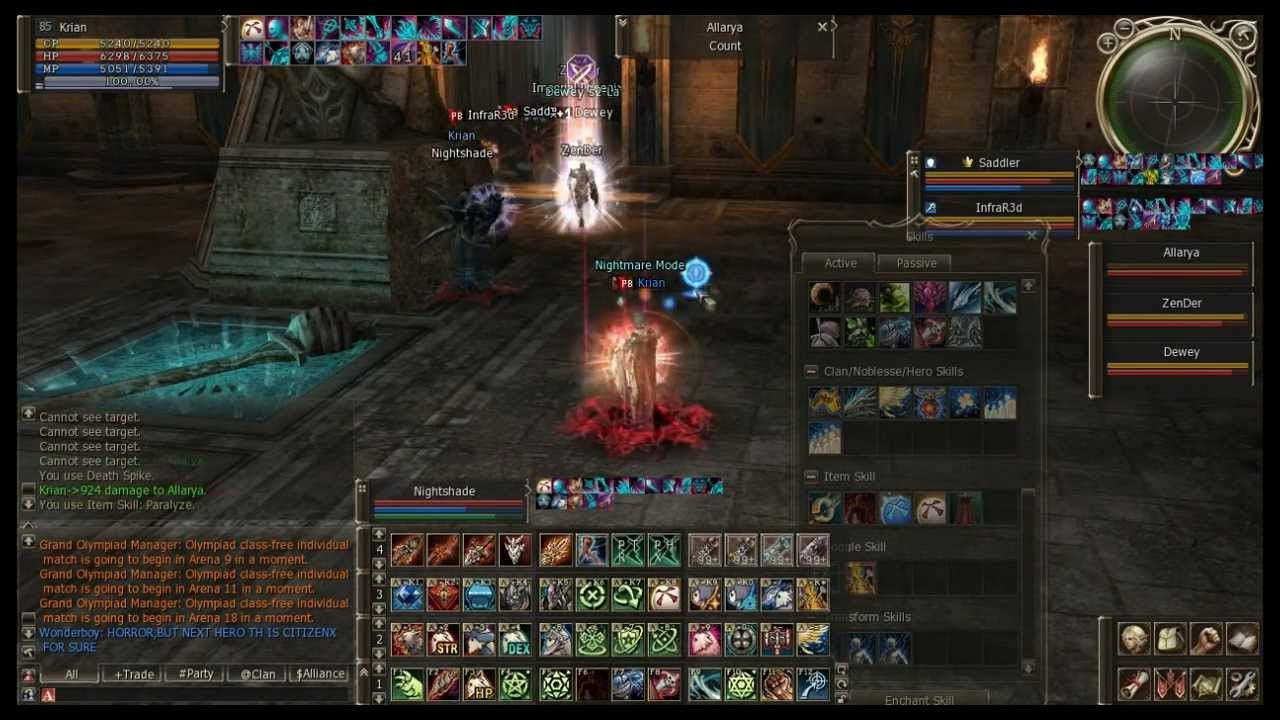 Krian Spectral Master Olympiad Lineage Ii Youtube