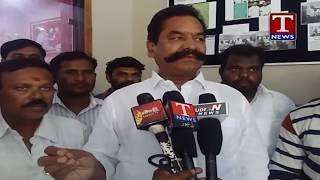 MLA Teegala Krishna Reddy  Speaks over Toll Gate Staff  live Telugu - netivaarthalu.com
