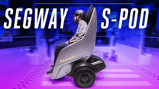Segway S-Pod looks weird, but it's really fun