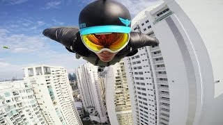 GoPro Awards: Wingsuit Flight Between Skyscrapers with Brandon Mikesell