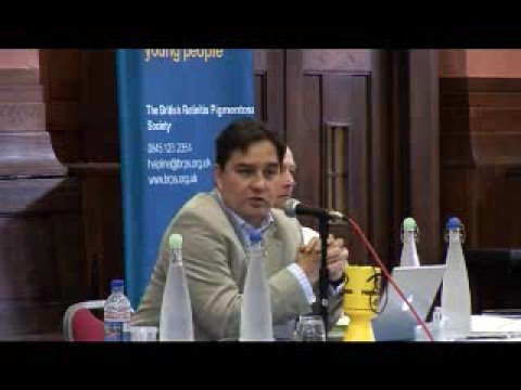 RP Fighting Blindness 2008 AGM Dr Robin Ali on Gene Therapy