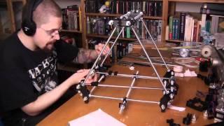 Lets Build! Prusa Mendel 3D Printer Timelapse