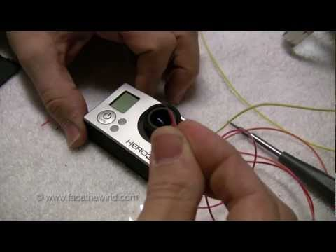 How to hack a GoPro Hero3 for wired remote control