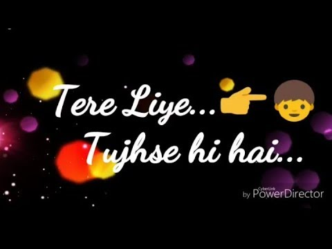 💞💞Tere liye female version💞💞