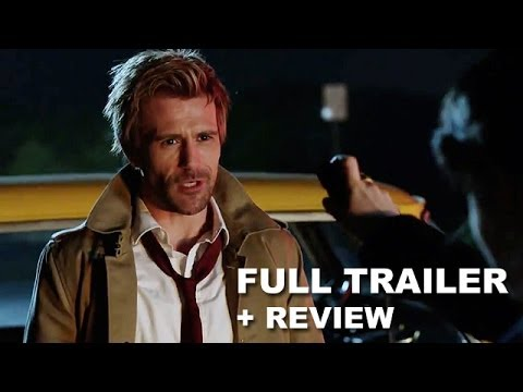 Constantine Trailer 2014 + Trailer Review!  New NBC TV Series from Warner Bros and DC Comics! klip izle