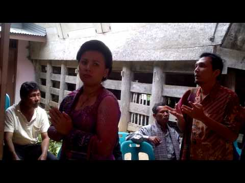 Pesta Tambak ni  Op  Isabella Siagian di Desa Batumoror, Kec Silaen, Kab Tobasa