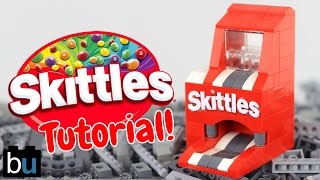How to Build a LEGO Skittles Mini Machine
