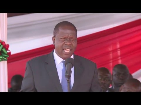 DR. MATIANG'I SPEECH AT THE WEST KENYA UNION CONFERENCE OF SEVENTH-DAY ADVENTISTS