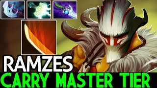 Ramzes [Juggernaut] Carry Master Tier Created a Monster Late Game 7.21 Dota 2