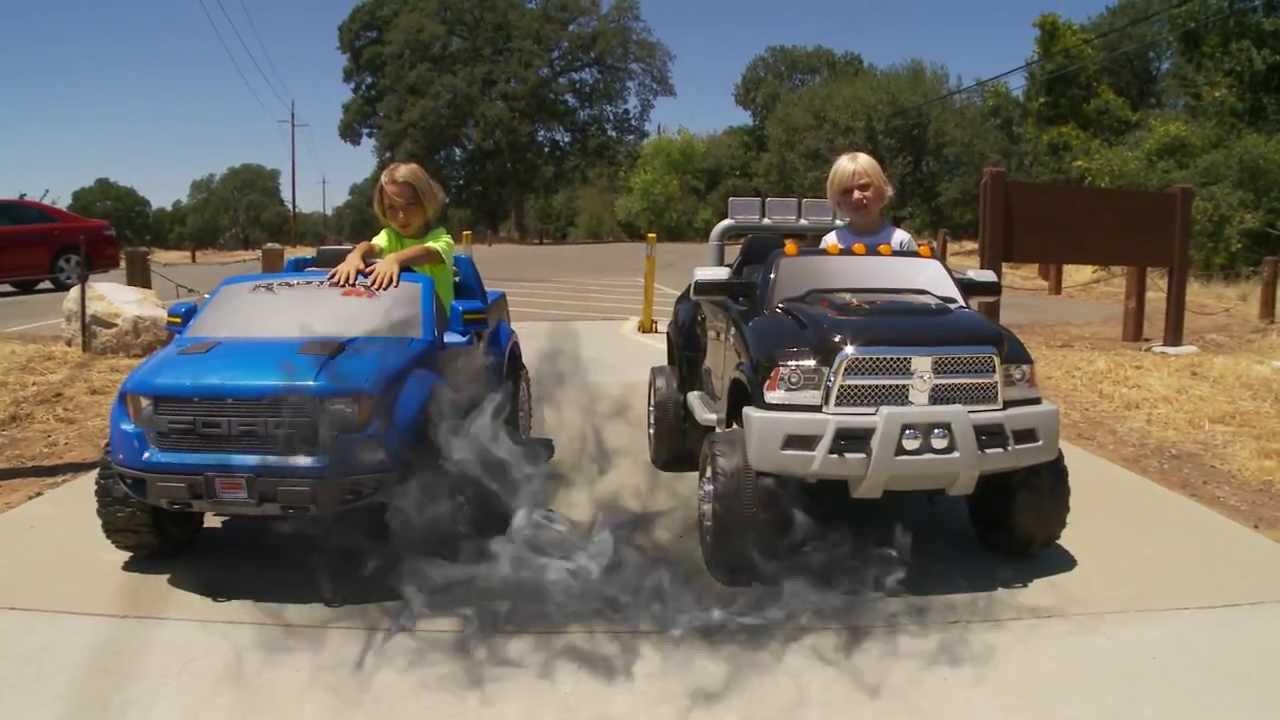 Power Wheels Trucks For Sale Power Wheels Truck Race