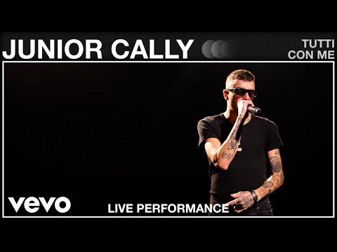 Junior Cally - Tutti Con Me - Live Performance | Vevo