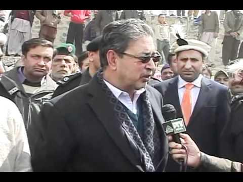 Baltistan Police passingout Skardu. Chief Guest CM Mehdi Shah Gilgit