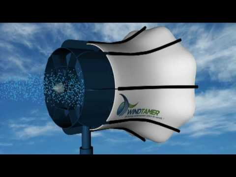 WindTamer Turbines - The Most Efficient Technology | WindTamerTurbines.com