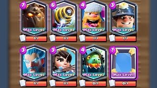 Clash Royale - MADNESS! All Maxed Legendary Deck