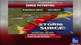 RED ALERT - DANGEROUS HURRICANE SANDY TO HIT NEW YORK AREA EARLY 29TH OCTOBER 2012