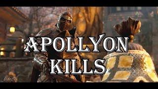 For Honor All Apollyon Kills