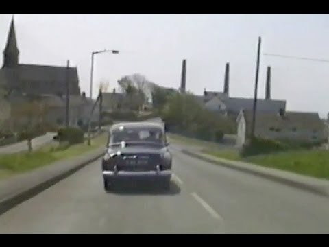 Photo of Driving through Burry Port, Carmarthenshire in 1989