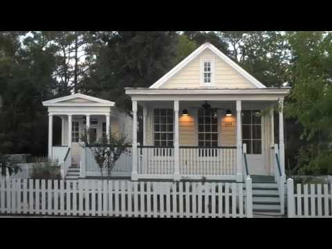 Steve Mouzon Cottages, Cottage Square, MS - YouTube