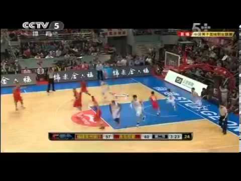 T-Mac Tracy McGrady China CBA Debute 34PTS 8RBS 9ATS [11/25/12]