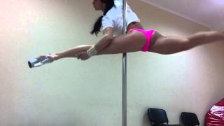 Юлия Шикула - Exotic Pole Dance  апрель 2015