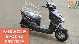 Miracle Race 60 Electric Scooter : Sneak Peek