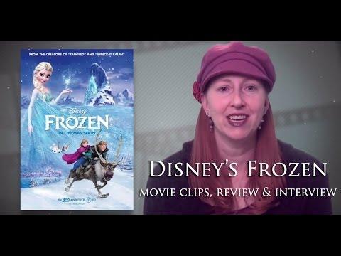 Disney S Frozen Movie Clips Review Interviews Idina Menzel Kristen ...