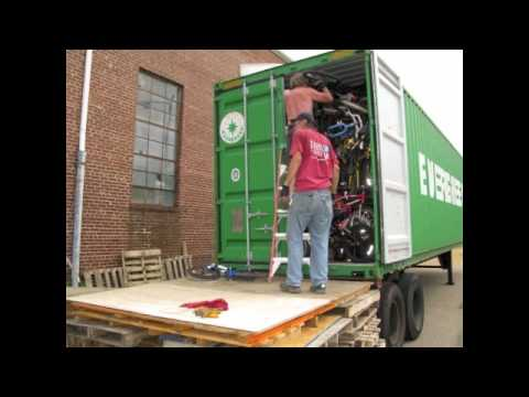 Collecting and Shipping Bikes for the Philippines