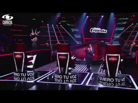 Andrés cantó 'Ahora quien' de Marc Anthony - LVK Colombia...