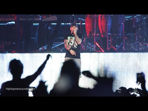 ❤ Eminem Till I Collapse 2014 at Squamish Valley Music Festival - Canada (10.August) ❤