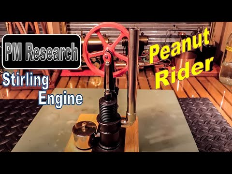 "PM Research Solar Engine #10  ""THE PEANUT RIDER"""