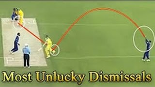 Top 5 - Most Unlucky Dismissals   Weird Wickets  7   SC #238