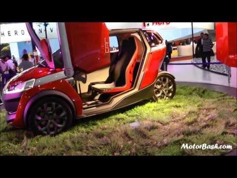 Bajaj U Car Concept - Auto Expo 2014 Delhi, India