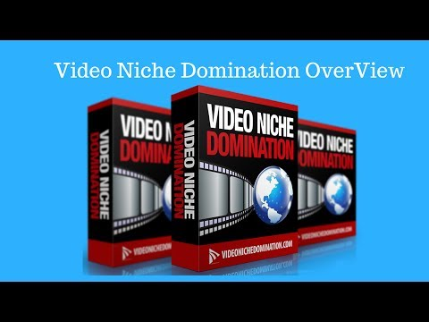 Video Niche Domination Review by Adam Payne