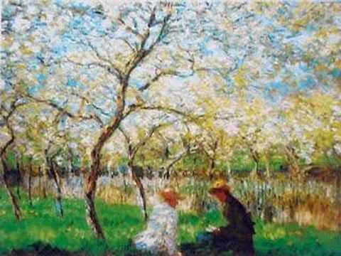 """Gabriel FAURE': Pavane, Op. 50 - Paintings By """"CLAUDE MONET"""""""