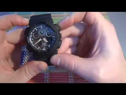 Как настроить часы g shock китай инструкция