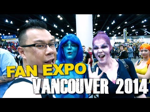 Vlogging at Fan Expo Vancouver 2014