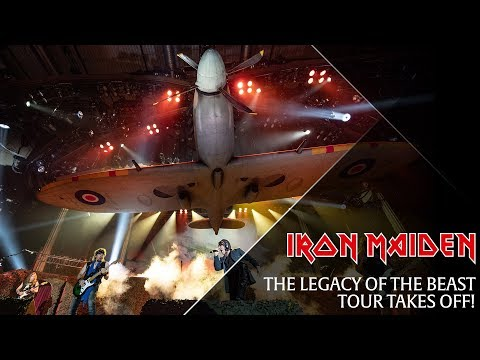 Iron Maiden - First night of the Legacy Of The Beast Tour