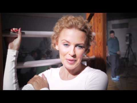 Kylie Minogue Sexercize EXCLUSIVE behind the scenes video