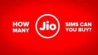 [HINDI] How many JIO sims can you buy?