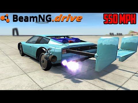 BeamNG.drive - 550 MPH JET CAR