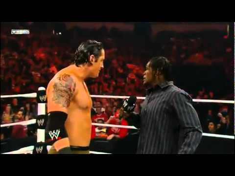 R-Truth Funny Moment Disneyland 16/1/2012 Raw