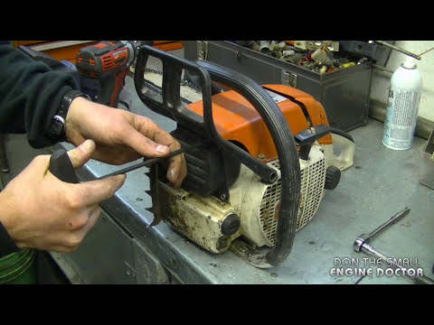 How To Fix Stripped Muffler Bolts On A Chainsaw