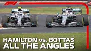 Hamilton And Bottas' Epic Silverstone Battle | 2019 British Grand Prix