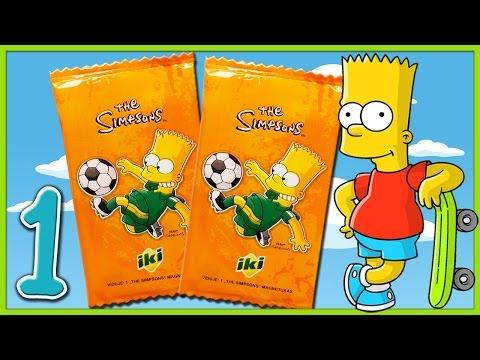 SIMPSONŲ magnetukai iš IKI (#1 serija) (Simpsonai lietuviškai)