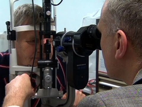 Experimental eye treatment offers new hope for the blind