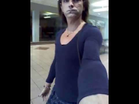 Crossdresser Shopping At The Mall