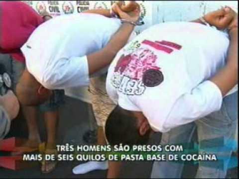Pasta base de cocaína é apreendida em Uberlândia