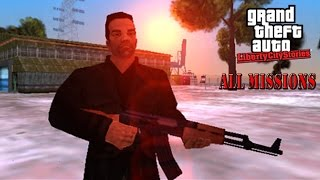 GTA:Liberty City Stories - All Missions(HD)