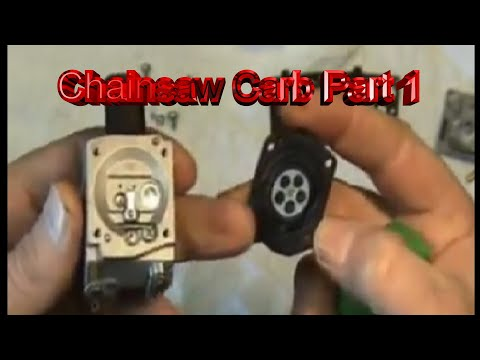 Chainsaw Carburetor Repair Part 1